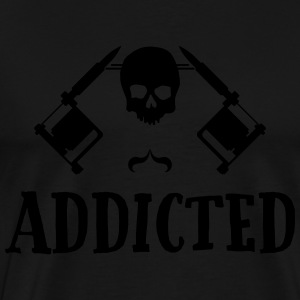 Tattoo addicted  Hoodies & Sweatshirts - Men's Premium T-Shirt