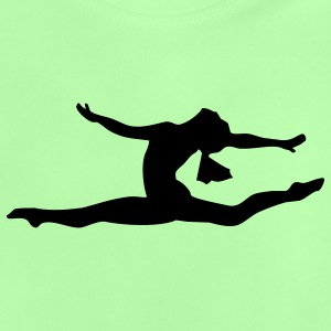 Gymnastic girl - Baby-T-shirt