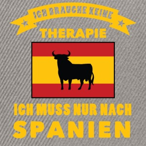 Therapie in Spanien  T-Shirts - Snapback Cap