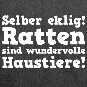 Ratten Haustiere T-Shirts - Schultertasche aus Recycling-Material