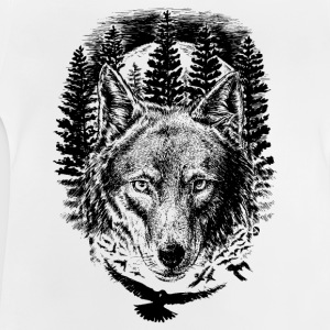 AD Wolf T-shirts - Baby-T-shirt