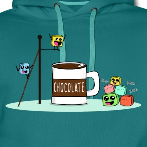 Marshmallows having Fun T-Shirts - Männer Premium Hoodie