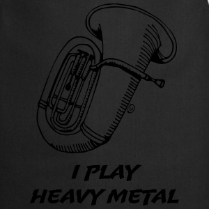 I Play Heavy Metal T-paidat - Esiliina