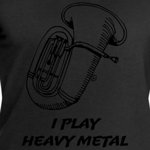 I Play Heavy Metal - Sweatshirts for menn fra Stanley & Stella