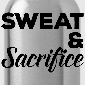 Sweat & Sacrifice Gym Quote Sweaters - Drinkfles