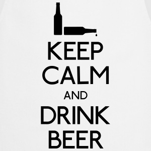 Keep Calm Drink Beer Long Sleeve Shirts - Cooking Apron