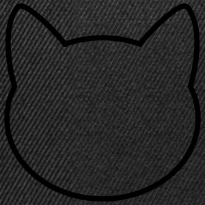 Cat Icon Outline Gensere - Snapback-caps