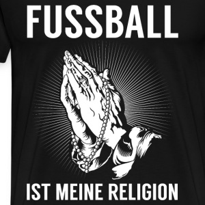 Football - religion Manches longues - T-shirt Premium Homme