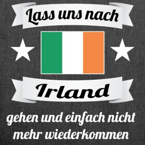 Irland Auswandern Pullover & Hoodies - Schultertasche aus Recycling-Material