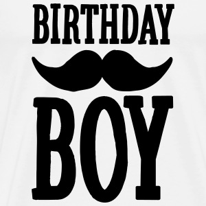 Birthday Boy Hipster Hoodies & Sweatshirts - Men's Premium T-Shirt
