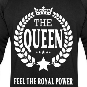 THE QUEEN white transparentes logo.png T-Shirts - Männer Sweatshirt von Stanley & Stella