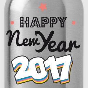 happy new year  2017 coul - Drikkeflaske