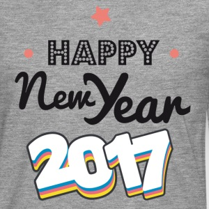 happy new year  2017 coul - Camiseta de manga larga premium hombre