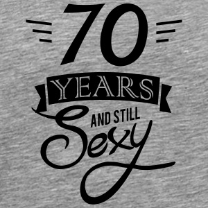 70 years and still sexy Sportsklær - Premium T-skjorte for menn