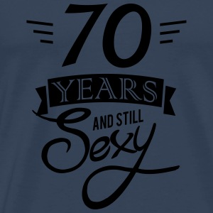 70 years and still sexy Gensere - Premium T-skjorte for menn