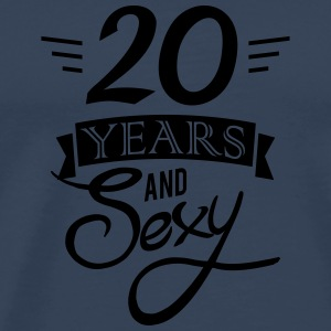 20 years and sexy Sports wear - Men's Premium T-Shirt