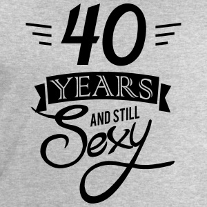 40 years and still sexy T-Shirts - Men's Sweatshirt by Stanley & Stella
