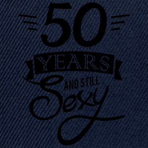 50 years and still sexy Sports wear - Snapback Cap