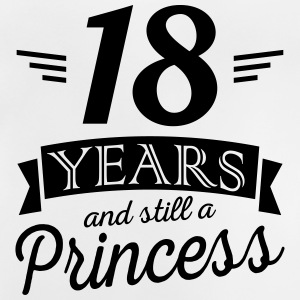 18 years and still a princess Magliette - Maglietta per neonato