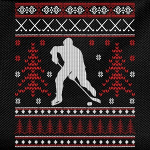 Eishockey - Ugly Christmas Sports wear - Kids' Backpack