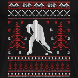 Eishockey - Ugly Christmas Sports wear - Men's Premium T-Shirt
