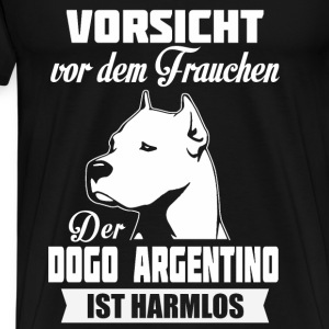 Dogo Argentino - Let op Sweaters - Mannen Premium T-shirt