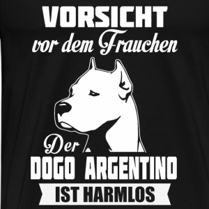 Dogo Argentino - attention Débardeurs - T-shirt Premium Homme