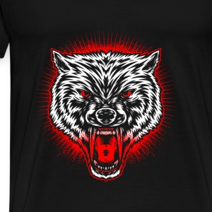 Wolf's head Hoodies & Sweatshirts - Men's Premium T-Shirt