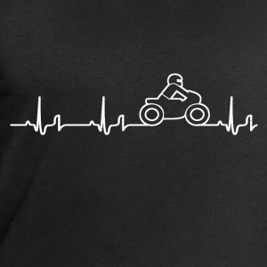Heartbeat - motorcycle T-Shirts - Men's Sweatshirt by Stanley & Stella