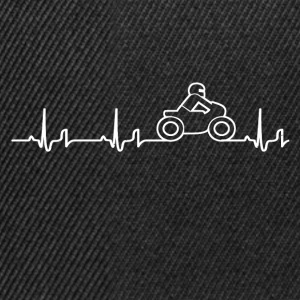 Heartbeat - motorcycle T-Shirts - Snapback Cap