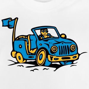 Strand Jeep Illustration T-Shirts - Baby T-Shirt
