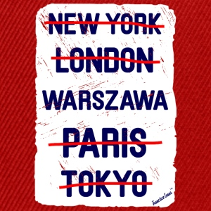 NY London Warszawa..., Francisco Evans ™ T-skjorter - Snapback-caps
