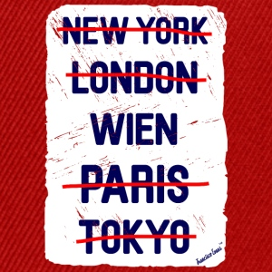 NY London Wien..., Francisco Evans ™ T-shirts - Snapback Cap