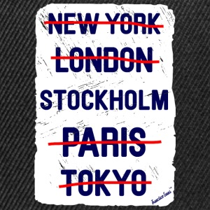 NY London Stockholm..., Francisco Evans ™ T-shirts - Snapbackkeps