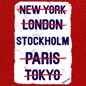 NY London Stockholm..., Francisco Evans ™ T-skjorter - Snapback-caps