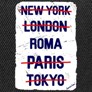 NY London Roma..., Francisco Evans ™ T-skjorter - Snapback-caps