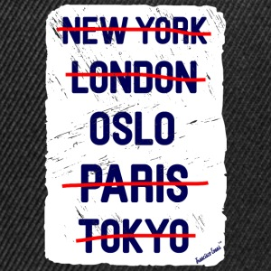 NY London Oslo..., Francisco Evans ™ T-skjorter - Snapback-caps