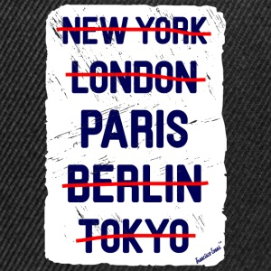 NY London Paris..., Francisco Evans ™ T-skjorter - Snapback-caps
