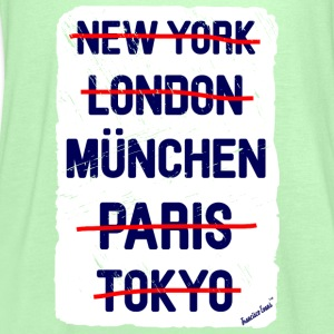 NY London München..., Francisco Evans ™ T-shirts - Dame tanktop fra Bella