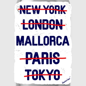 NY London Mallorca..., Francisco Evans ™ T-shirts - Vattenflaska