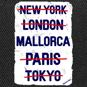 NY London Mallorca..., Francisco Evans ™ T-skjorter - Snapback-caps