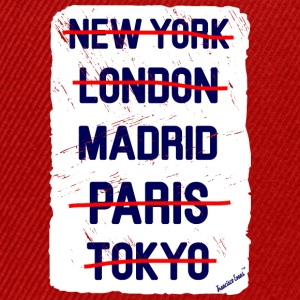 NY London Madrid..., Francisco Evans ™ T-skjorter - Snapback-caps