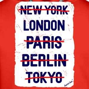 NY London..., Francisco Evans ™ T-shirts - Premiumluvtröja herr