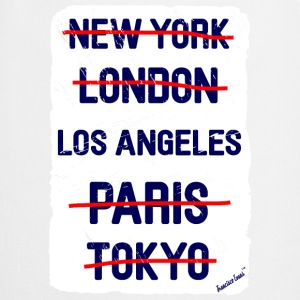 NY London Los Angeles..., Francisco Evans ™ T-shirts - Forklæde
