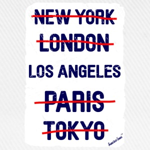 NY London Los Angeles..., Francisco Evans ™ T-Shirts - Baseball Cap