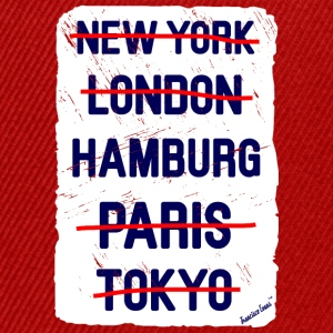 NY London Hamburg..., Francisco Evans ™ T-skjorter - Snapback-caps