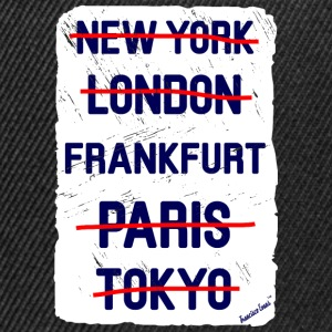 NY London Frankfurt..., Francisco Evans ™ T-shirts - Snapbackkeps