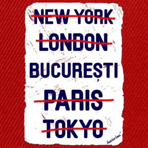 NY London București..., Francisco Evans ™ T-skjorter - Snapback-caps