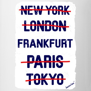 NY London Frankfurt..., Francisco Evans ™ T-shirts - Mugg