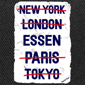 NY London Essen..., Francisco Evans ™ T-skjorter - Snapback-caps